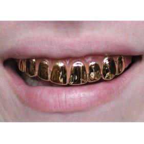 dentes dourados